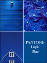 Lapis blue pantone